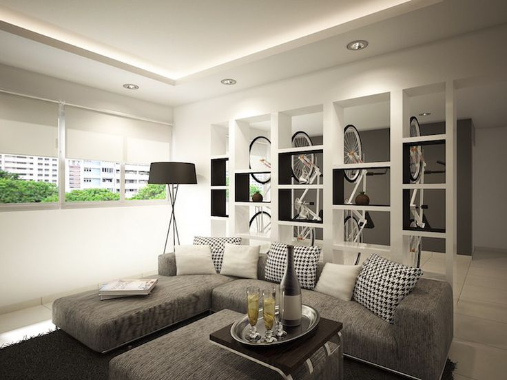 Transformation Of A 20 Year Old HDB 4-room Flat Into A