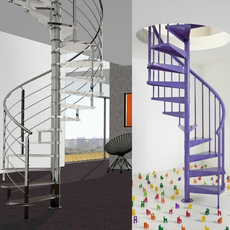 Las 17 mejores im genes sobre escaleras diferentes usos - Imagenes de escaleras de caracol ...