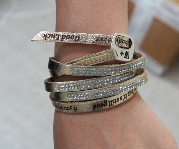 스토리아엠*STORIAM*이탈리아 프리미엄 브랜드 전문 편집샵*www.storiam.co.kr*위파지티브 #wepositive#패션팔찌#bracelet#가죽팔찌#wepositive