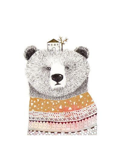Bear by Missmalagata