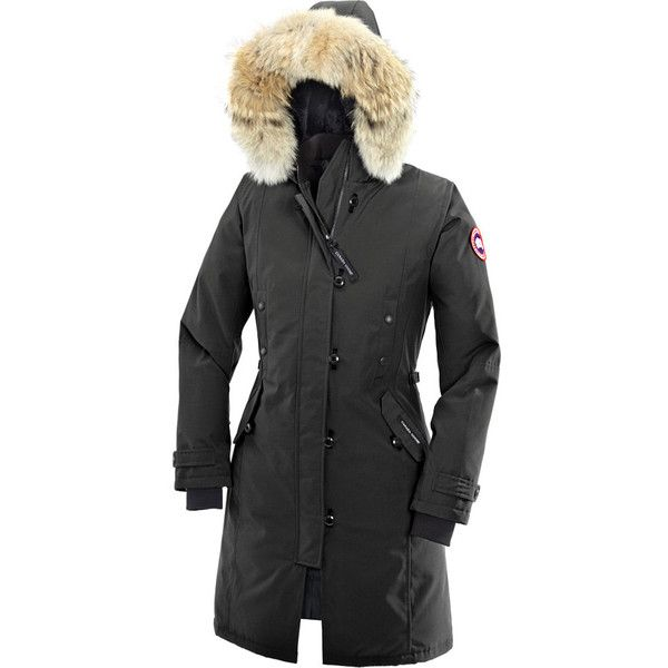 Canada Goose Kensington Down Parka ($895) ❤ liked on Polyvore featuring coats and canada goose
