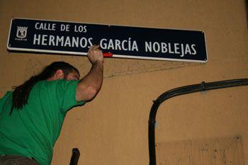 Una calle cercana que probablemente cambie su nombre. ¿Cómo se llamará ahora?