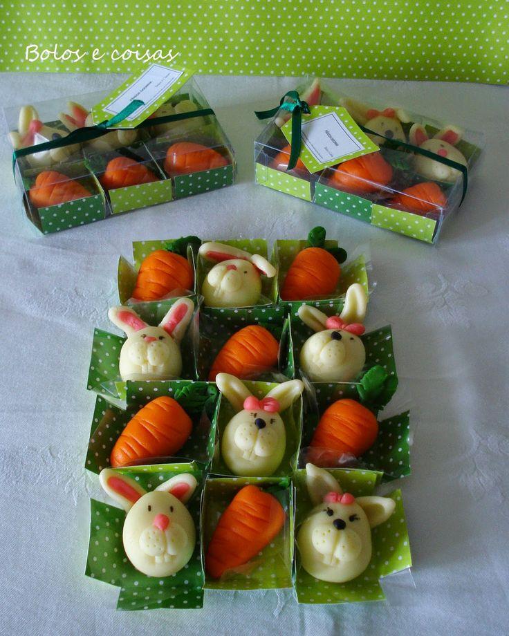 Bolos e coisas - Bolos decorados (Cake Design): PASCOA * Doces modelados