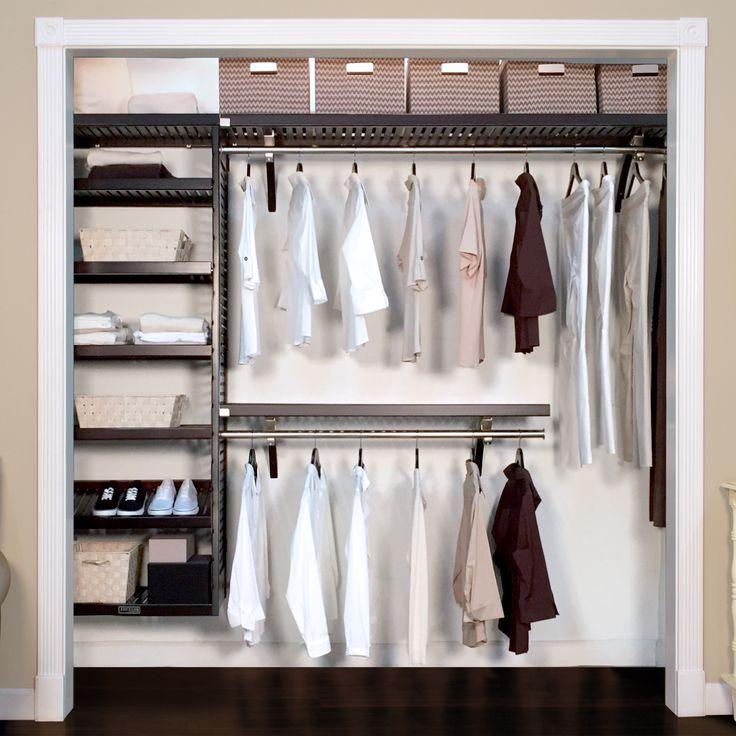 16in. Deep Woodcrest Deluxe Organizer Closet system