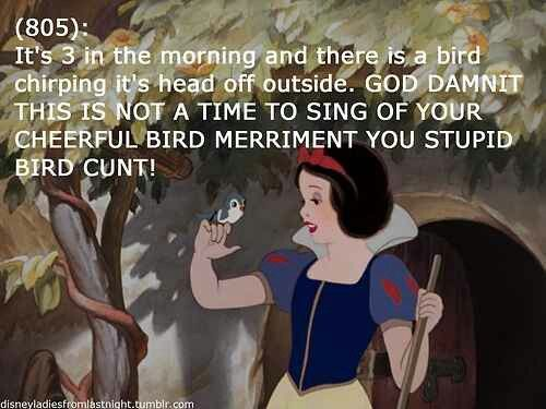 Disney Princess texts. I snorted when I read this!