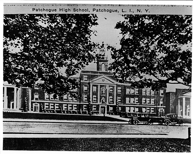 Patchogue High School.  Now South Ocean Middle School.