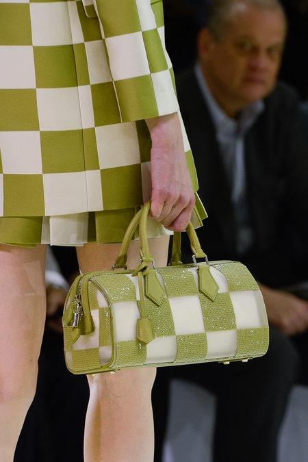 Green...Louis Vuitton Bag from Spring / Summer 2013 Runway