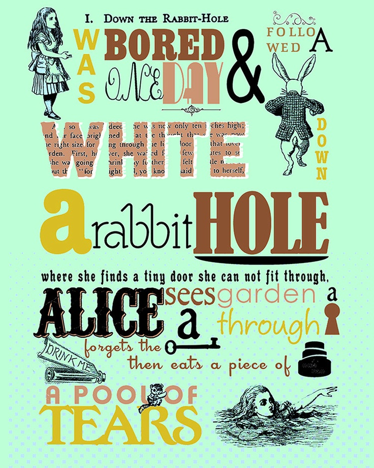 the story alice in wonderland english literature essay Alice's adventures in wonderland (commonly shortened to alice in wonderland) is an 1865 novel written by english author charles lutwidge dodgson under the pseudonym lewis carroll it tells of a girl named alice falling through a rabbit hole into a fantasy world populated by peculiar, anthropomorphic creatures.