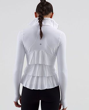 Lululemon Yogi Dance Jacket  <3 <3 <3  I totally regret not buying this when I had the chance...