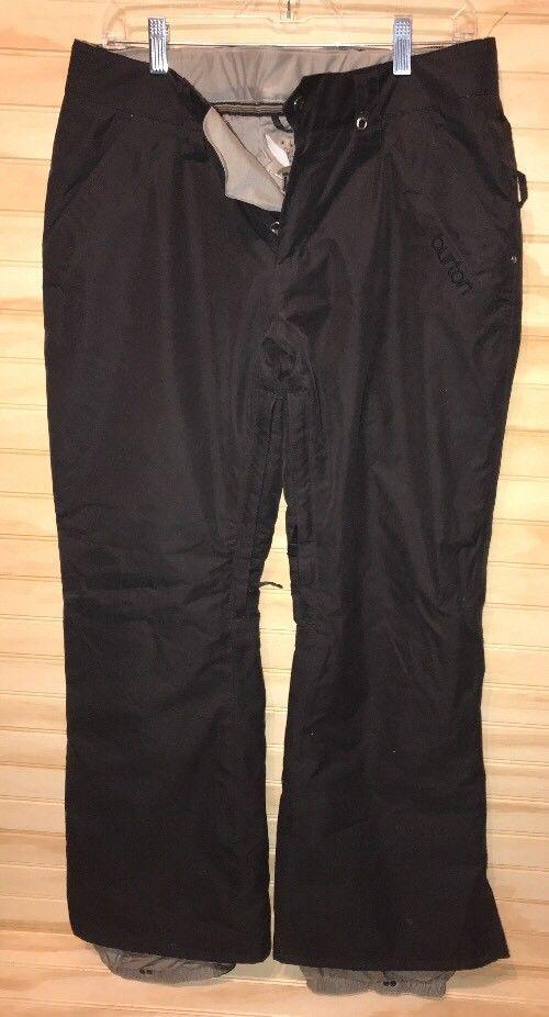 burton snowboard pants ladies Black M Dry Ride #Burton