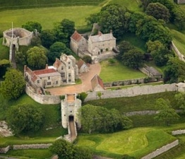 700 year old Carisbrooke Castle is a historic motte-and-bailey castle located in the village of Carisbrooke, near Newport, Isle of Wight.