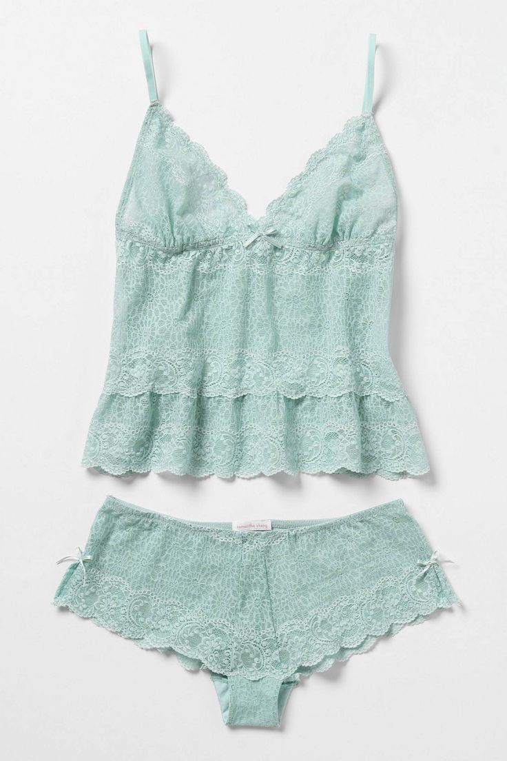 Anthropologie Swept Asea camisole and boy shorts