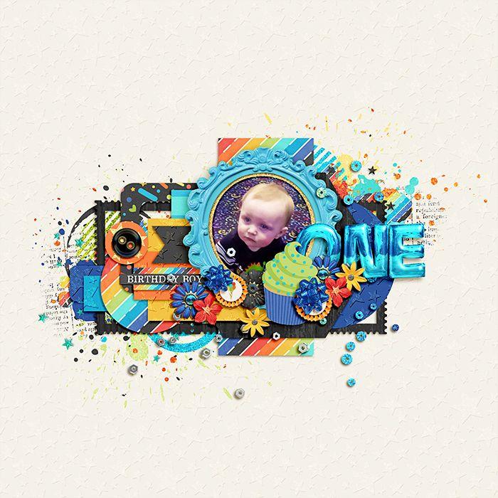 Believe in Magic: Magical Birthday BOY- SCATTERZ by Studio Flergs