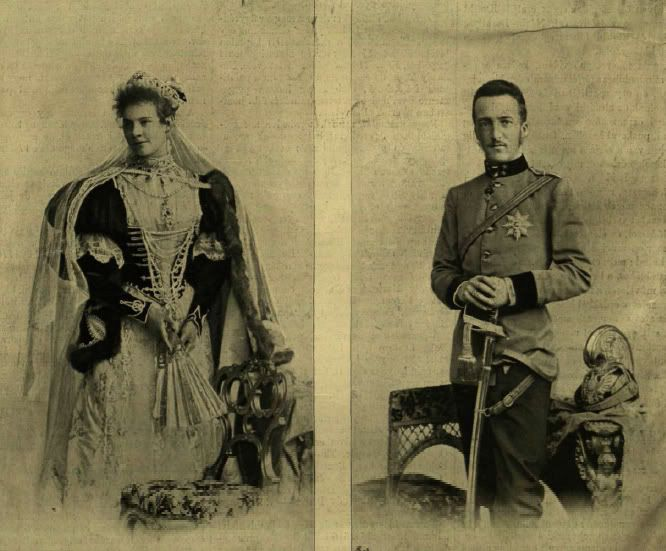 Gisela Louise Marie of Austria et Léopold