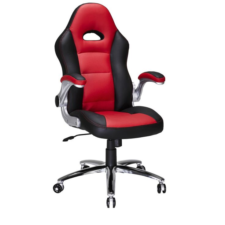 Le Mans Racer Chair Black and Red how awesome is it :D the chair i am on atm has a broken back so need this baby :D