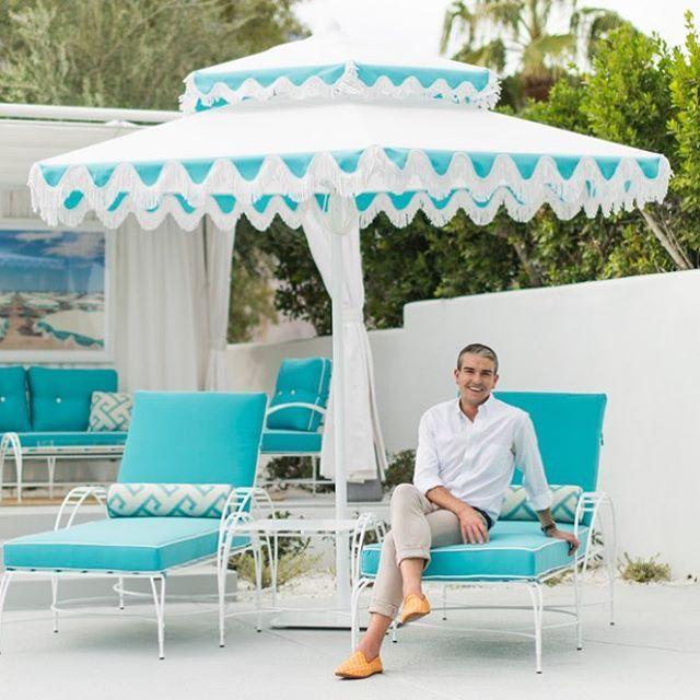 All about the fringe. Designed by @graymalin for #SantaBarbaraUmbrellas #SantaBarbaraDesigns . . . . . #graymalin #fringe midcentury #modern #midcenturymodern #shade #umbrella #outdoorliving #outdoordesign #design #decor #luxury #luxurylife #luxuryliving #lifestyle #luxurylifestyle #handcrafted #architecture #architect #interiordesign #poolside #handcrafted #madeinamerica #madeinusa #madeincalifornia - Architecture and Home Decor - Bedroom - Bathroom - Kitchen And Living Room Interior Design…