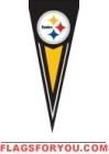 "Steelers Yard Pennants 34"" x 14"""