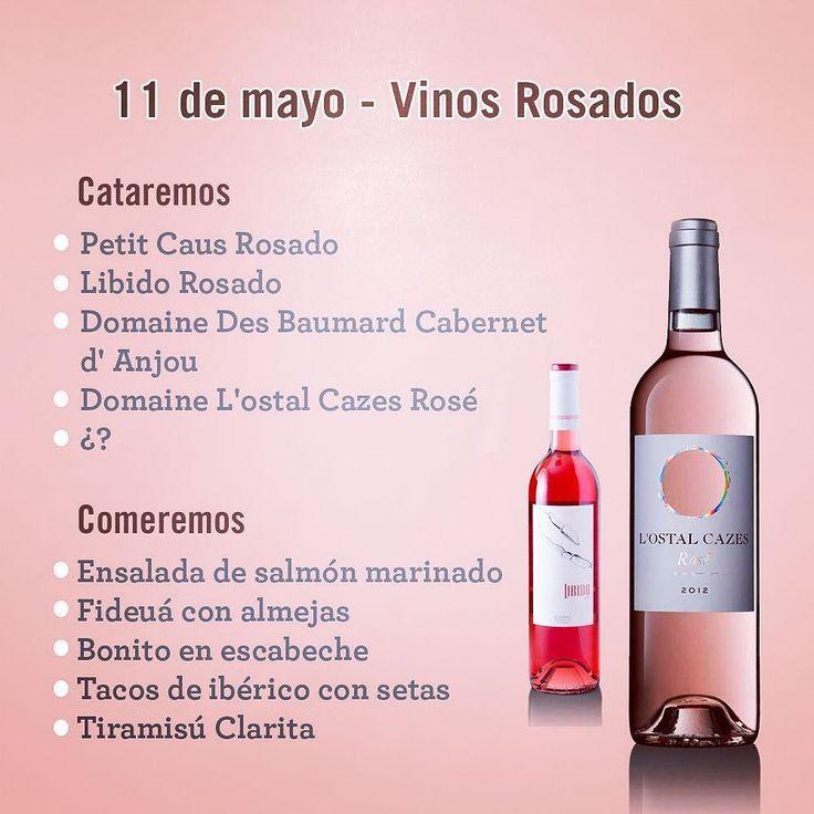 El 11 de mayo tienes un #planazo en #claritamadrid: cata de vinos rosados y cincos platos para compartir. Una ocasión perfecta para iniciarte en la cata. Te prometemos que a partir de ahora disfrutarás más del vino y apreciarás todos esos matices que te pasaban desapercibidos  #Catadevinos #Catas #vino #rosado #winelovers #malasaña #planesenmadrid #salirpormadrid #restauranteclarita #maridaje #sumiller by clarita_madrid