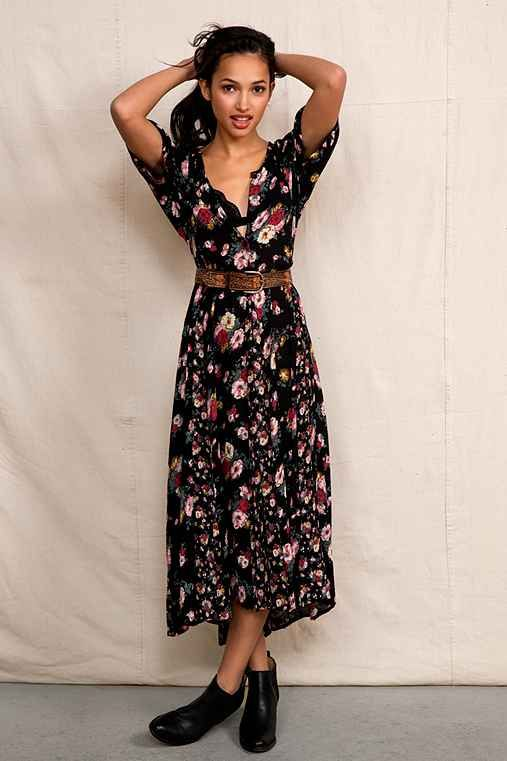 Urban Renewal '90s Blossom Maxi Dress - Urban Outfitters