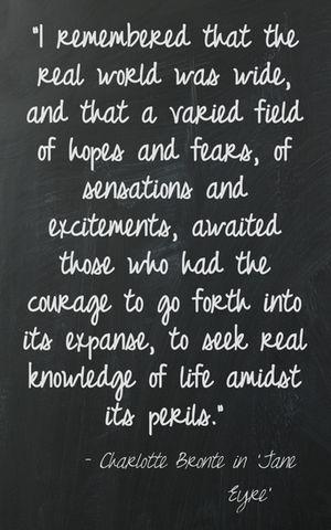Charlotte Bronte | The Book Habit