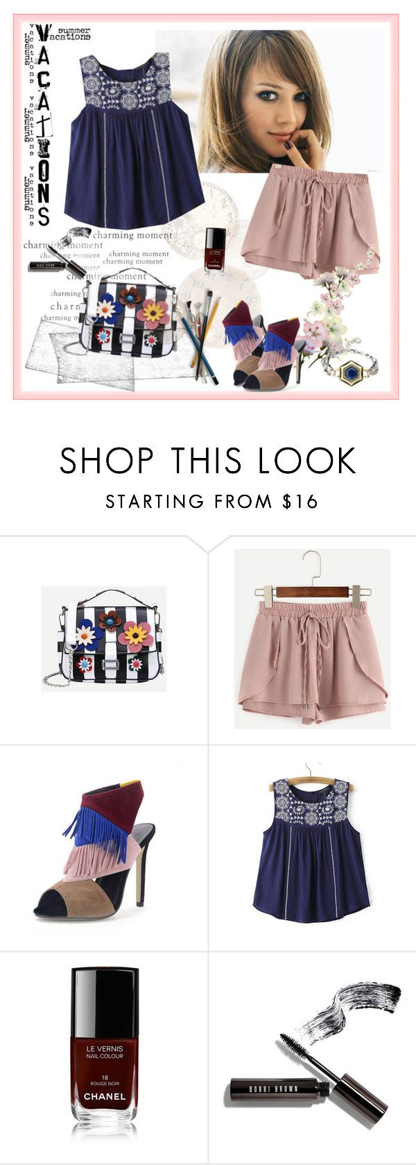 """Win SheIn $30 Coupon"" by carola-corana ❤ liked on Polyvore featuring Chanel, Bobbi Brown Cosmetics and shein"