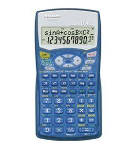 """Sharp EL-531WB-BL Translucent Blue Scientific Calculator by Sharp. $16.30. Sharp Scientific Calculator w """"Case"""" # EL-531V - Advanced D.A.L. - Sharp Electronics"""
