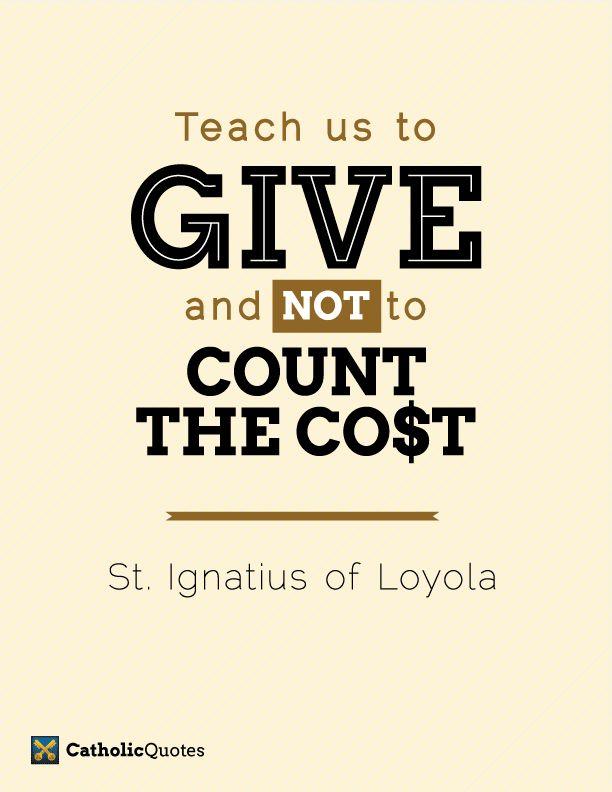St Ignatius Quotes Entrancing St Ignatius Of Loyola Quotes