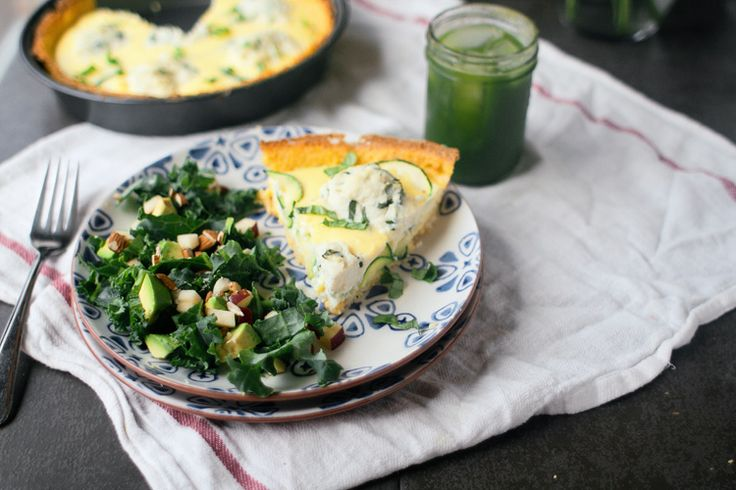 More like this: quiche , ricotta and basil .