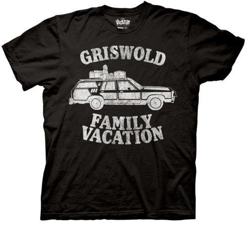 Commemorate your favorite cult classic with an awesome Christmas Vacation Griswold Family Vacation Adult Black T-shirt . Free shipping on National Lampoon