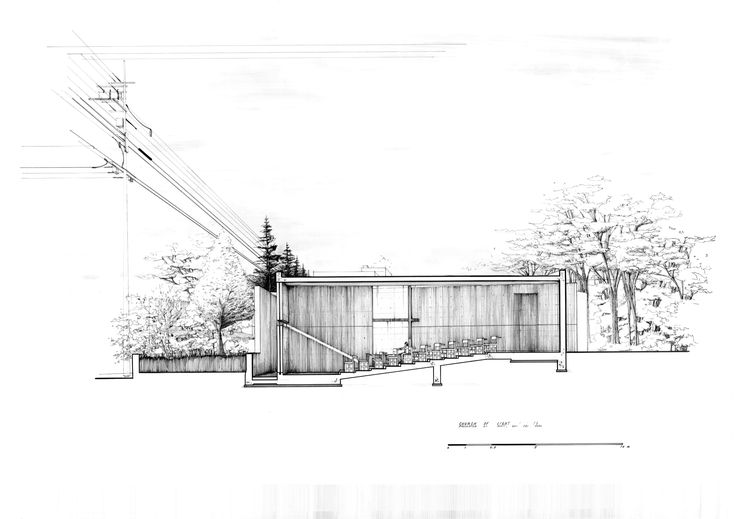 Church Elevation Plan : Best house tadao ando images on pinterest