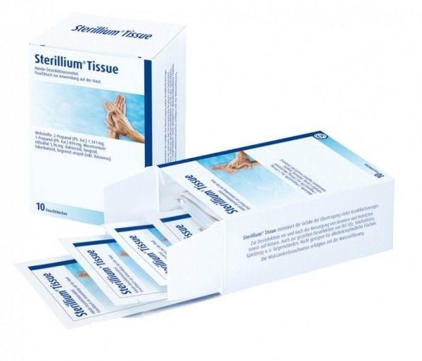 Sterillium Tissue Hande Desinfektionstuch Handedesinfektion