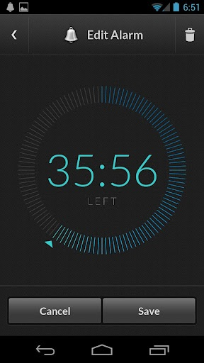 android - How doubleTwist Alarm Clock UI and Animation are built? - Stack Overflow