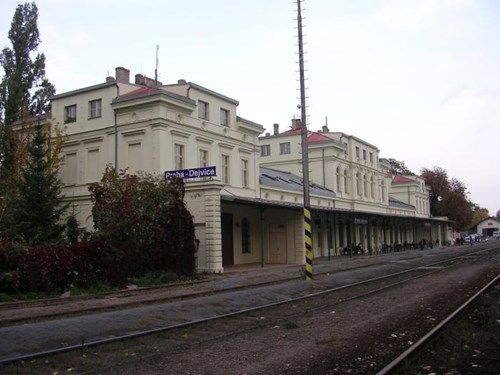 Railwaystation near which I live now, one of oldest in town  Regiony 24.cz