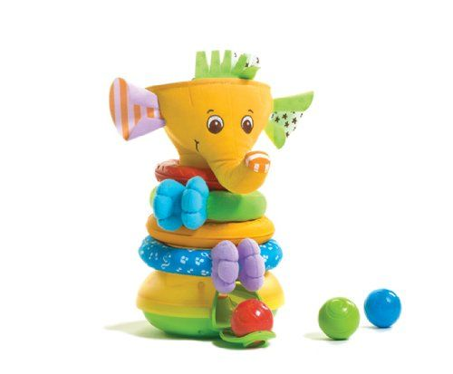 Tiny Love Musical Stack and Ball Game, Yellow Elephant $21.01