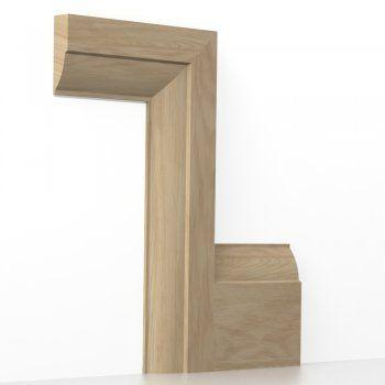 Oak Solid Ovolo Architrave Sets