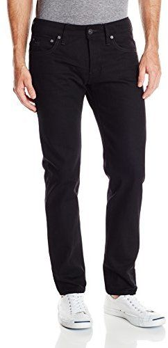 $150, Black Jeans: G Star G Star Raw 3301 Low Tapered Fit Jean In Black Trig Denim 3d Raw. Sold by Amazon.com. Click for more info: https://lookastic.com/men/shop_items/146446/redirect