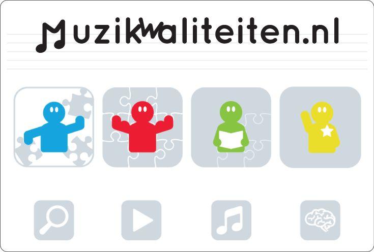 Huisstijl voor muzikwaliteiten.nl Muzikwaliteiten.nl is een digitale muziek methode gericht op Gymnasiumleerlingen. Ga naar mijn website voor meer informatie!