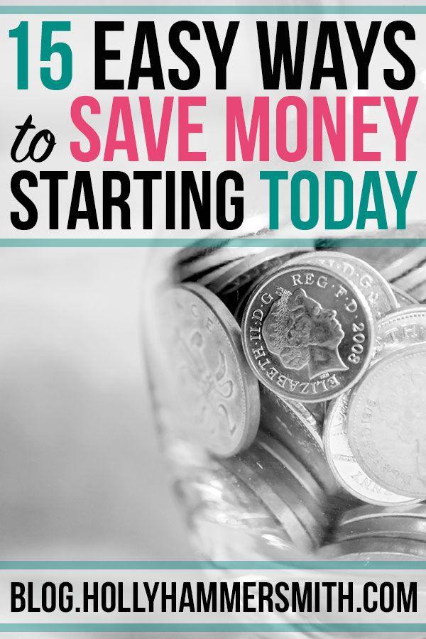Möglichkeiten zum Speichern: Es gibt viele Möglichkeiten, um zu sparen und weniger auszugeben. Dieser Beitrag bietet 15 wa …   – Budget Tips and Frugal Living