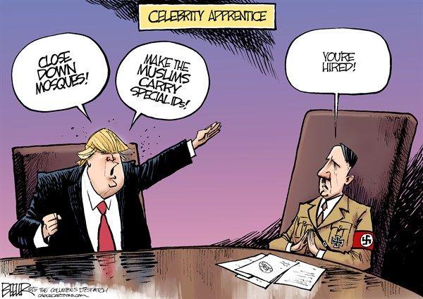 ... <b>trump</b>, gop, republican, candidate, 2016, hitler, <b>muslim</b>, celebrity