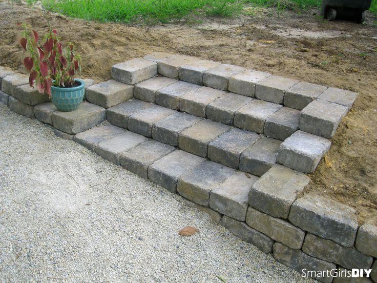 Wonderful Build Concrete Block Steps Yh35 Roccommunity