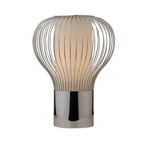 From destination lighting · modern balloon chrome table lamp