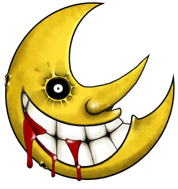 soul eater tattoo | deviantART: More Like Soul Eater moon tattoo by ~Atropina-Belladonna