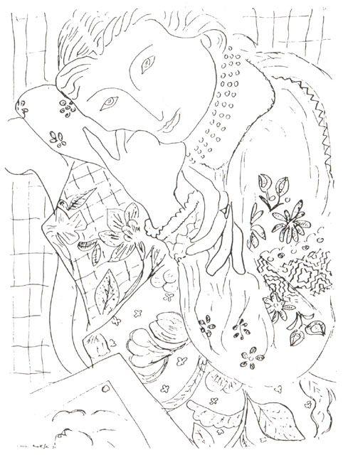 Romanian Blouse, dreaming    Henri Matisse