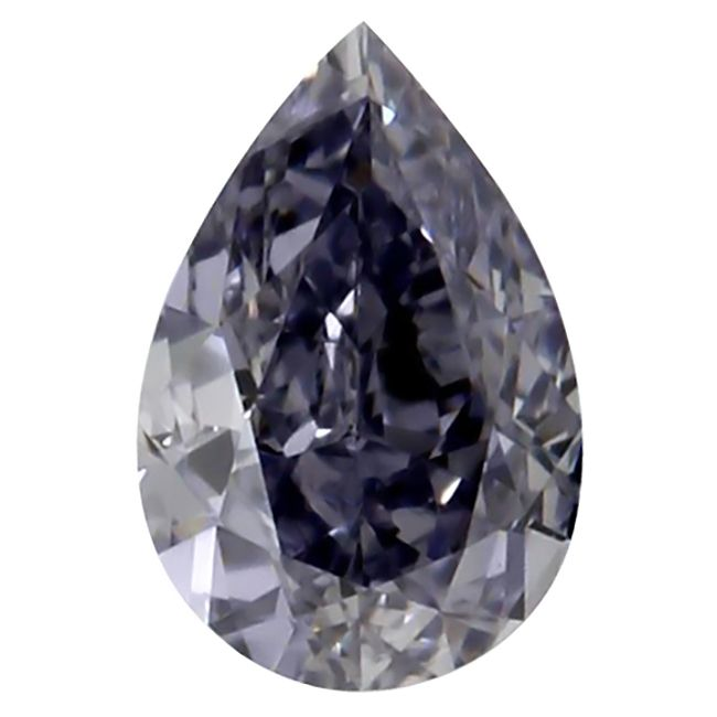 .15 carat, GIA certified Fancy Gray Blue, Pear shape Diamond with an SI1 clarity. A beautiful Natural Blue Diamond that will look stunning when set. This loose diamond has an amazing color.  Let one of our Diamond Specialist help you.