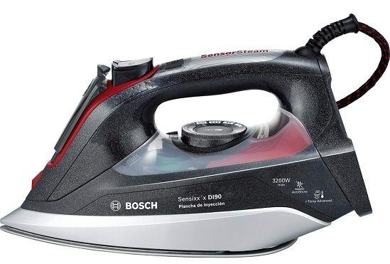 ¡Chollo! Plancha de inyección Bosch Sensixx'x DI90 por tan sólo 75,65 euros.