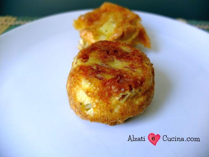 Tortillas di patate con salame - Alzati e Cucina