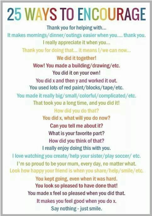 """.25 Ways to Encourage your kids - each one is better than an unthinking """"good job"""" #parenting #kids"""