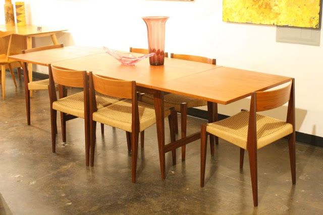 Mid2Mod: In the store: Bird chair, Danish dining and lots of chrome