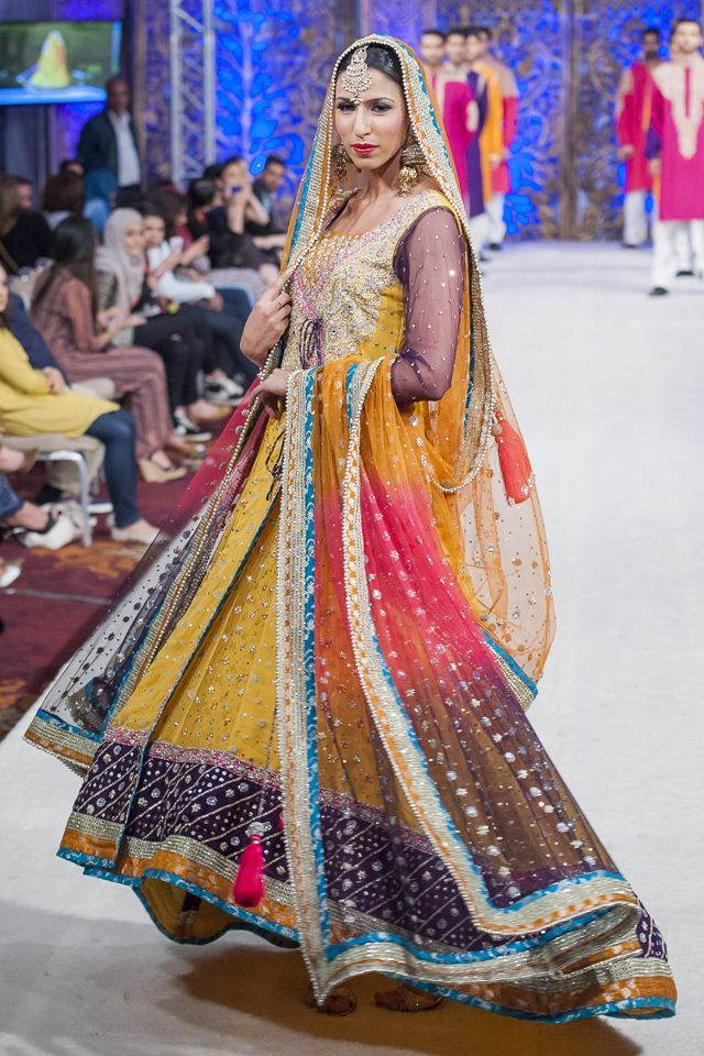 PFW Latest Zainab Chottani 2014 Collection