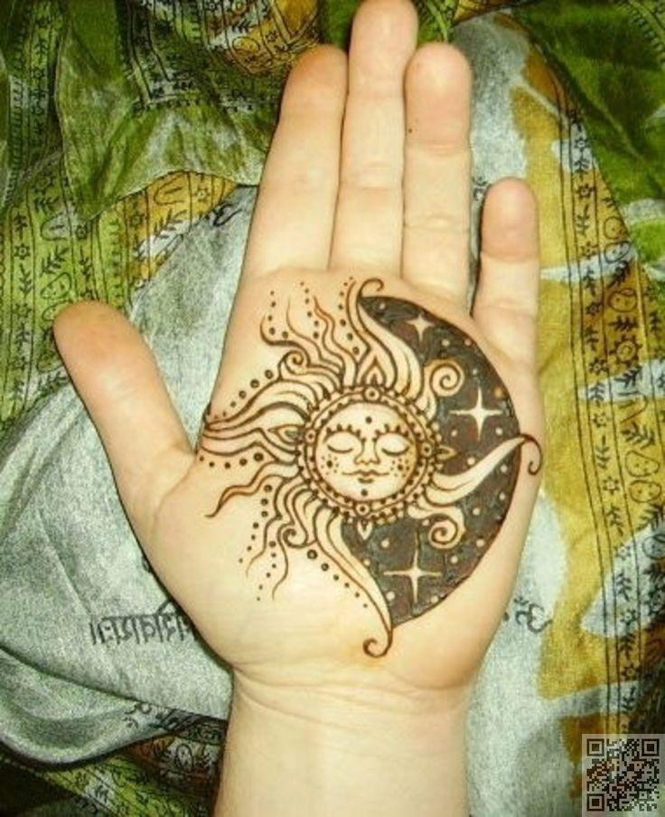 19. #wunderschöne Henna #Muster inspirieren Ihre #Tinte - Du wirst #nicht glauben, #diese 32 atemberaubende #Celestial Tattoos... → #Beauty